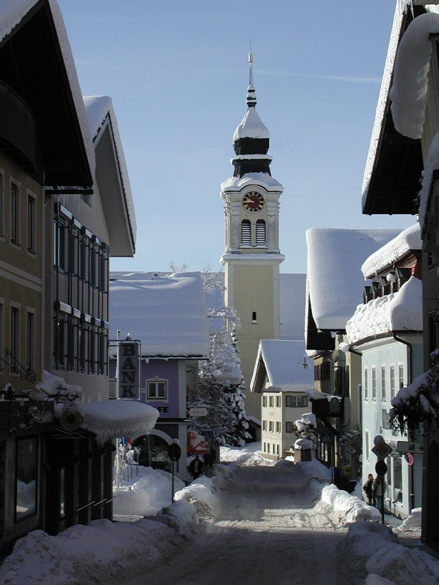Sonthofen im winter for Hotel in sonthofen